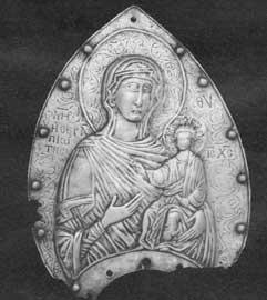 Λαβή από κατσί της Παναγίας της Θεραπειώτισσας.