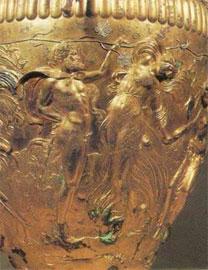 Λεπτομέρεια από τον κρατήρα του Δερβενιού.