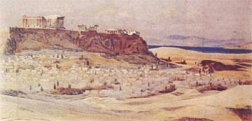 Ακρόπολις Αθηνών (σχέδιο Charles Nicod, 1912).