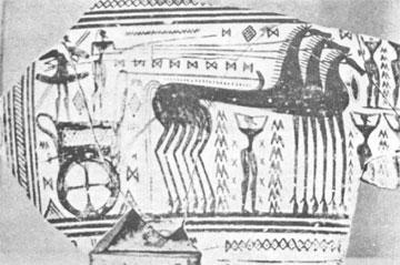 Άμαξα σε νεκρική πομπή (αρχαϊκή εποχή).