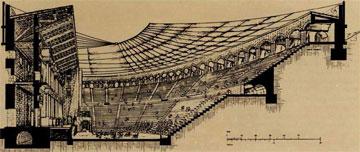 Το σκηνικά υπερφροντισμένο ρωμαϊκό θέατρο.