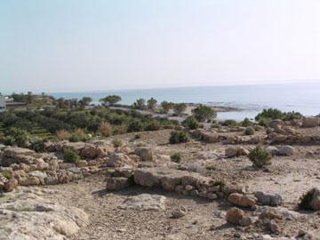 Αρχαία ελληνιστική πόλη στον Ξερόκαμπο.
