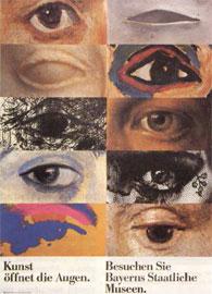 Το σύνθημα «Η τέχνη ανοίγει τα μάτια» συνδυάζεται με τη διαφορά στο μάτι και στη ματιά.