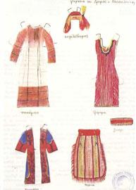 Η φορεσιά του Δρυμού, νομού Θεσσαλονίκης.
