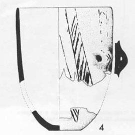 Παράδειγμα για το πώς σχεδιάζεται ένα αγγείο (Saliagos, Evans και Renfrew).