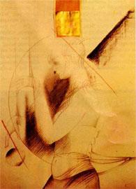 «Ενοχή». Σχέδιο της γαλλίδας ζωγράφου Jocelyne Pache.