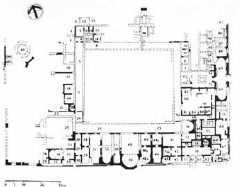 Το μέγαρο του Θησέα στην Πάφο ανοικοδομήθηκε στα τέλη του 3ου αιώνα.
