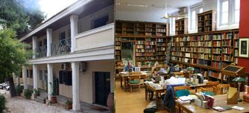 Εγκαταστάσεις της Βρετανικής Σχολής Αθηνών.