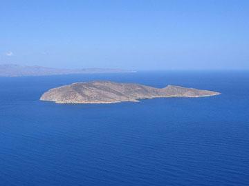 Η νησίδα Ψείρα.