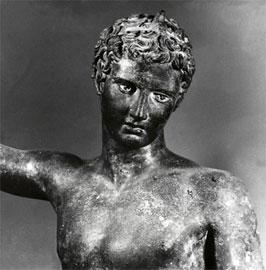 Πραξιτέλης, «το παιδί του Μαραθώνα», 340-330 π.Χ. Αθήνα, Εθνικό Αρχαιολογικό Μουσείο.
