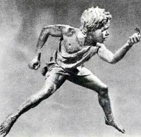 Νεαρός ιππέας (τζόκεϊ), 240-200 π.Χ. Εθνικό Αρχαιολογικό Μουσείο.