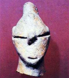 Πήλινο φυσιοκρατικό κεφάλι (τύπος Α1) από άγνωστη θέση της Θεσσαλίας.