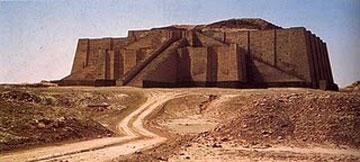 Ζιγκουράτ στην αρχαία πόλη της Ουρ.