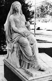 Λεωνίδας Δρόσης, Πηνελόπη, 1873. Αθήνα, Εθνική Πινακοθήκη.