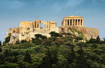 Άποψη του αρχαιολογικού χώρου της Ακρόπολης.