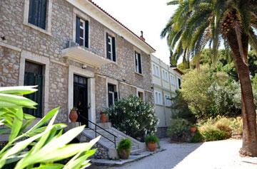 Η Βρετανική Σχολή Αθηνών.