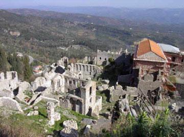 Μυστράς, Μνημείο Παγκόσμιας Πολιτιστικής Κληρονομιάς της UNESCO.