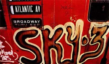 Γκράφιτι στη Νέα Υόρκη.