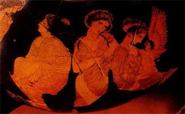 Υδρία του ζωγράφου του Μειδία από τάφο στην Ιερά Οδό.
