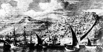 Άποψη της Θεσσαλονίκης από τη θάλασσα.