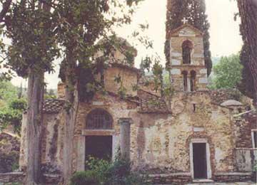 Η Μονή Καισαριανής.