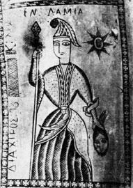 Η Αθηνά και η υπογραφή του τεχνίτη στο θηκάρι της πάλας (ΜΕΛΤ, αρ. 2728).