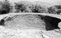 Ο μεγάλος μυκηναϊκός τάφος που βρέθηκε στη Μεγάλη Μαγούλα Γαλατά.