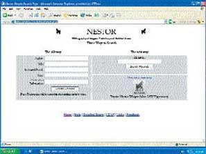 Nestor, με βιβλιογραφική ενημέρωση άνω των 300.000 τίτλων.