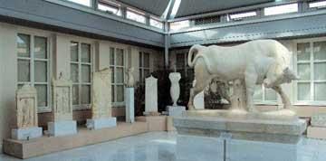 Ο ταύρος από τον ταφικό περίβολο του Διονυσίου Κολυττέως, 345-340 π.Χ.
