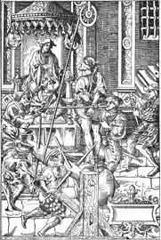 Αλχημιστής βασανιζόμενος δια να αποκαλύψη το μυστικόν του, 1541