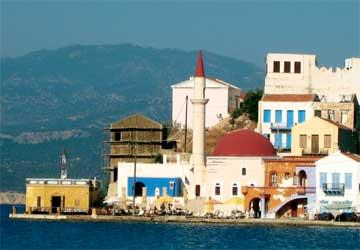Γενική άποψη της περιοχής Κάβος με το τζαμί