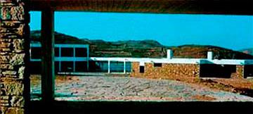 Ξενία Μυκόνου, αρχιτέκτων Άρης Κωνσταντινίδης, 1960