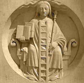 Η προσωποποίηση της Αλχημίας από την εκκλησία της Παναγίας των Παρισίων