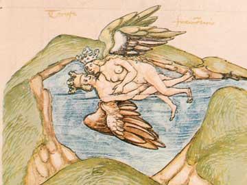 Το ηλιακό φως υπό την επίδραση του Υδραργύρου των Φιλοσόφων (Rosarium philosophorum, 1550)
