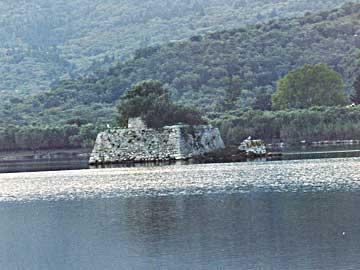 Το οχυρό Κωνσταντίνου όπως τροποποιήθηκε από τον Ρώσο στρατηγό Statter, το 1807.