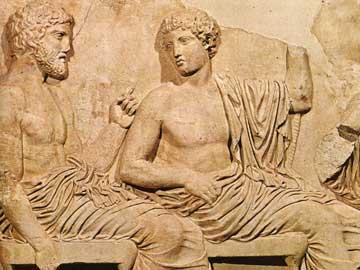 Συγκέντρωση θεών, ανατολική πλευρά Παρθενώνος, Μουσείο Ακροπόλεως.