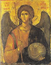 Ο Αρχάγγελος Μιχαήλ, αρχές 14ου αι. Βυζαντινό και Χριστιανικό Μουσείο, Αθήνα.