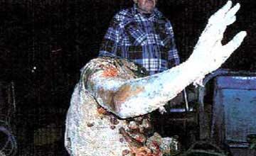 Το άγαλμα που ανασύρθηκε από τα ανοιχτά της Καλύμνου.