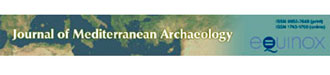 Journal of Mediterranean Archaeology, λογότυπο