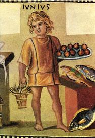 Αλληγορία του Ιουνίου. Ψηφιδωτό από τη Ρώμη, 3ος αι. μ.Χ. Μουσείο Ερμιτάζ, Αγ. Πετρούπολη, Ρωσία.