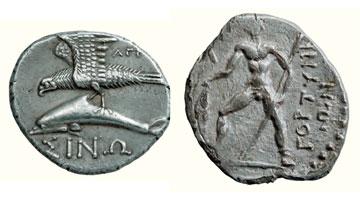 Νομίσματα από τη νομισματική συλλογή του Ιδρύματος Μείζονος Ελληνισμού.
