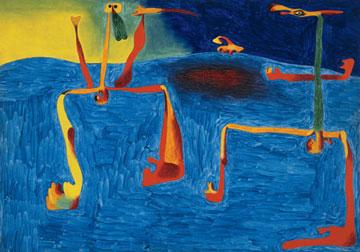 Joan Miro, Οι δύο φιλόσοφοι, 1936.
