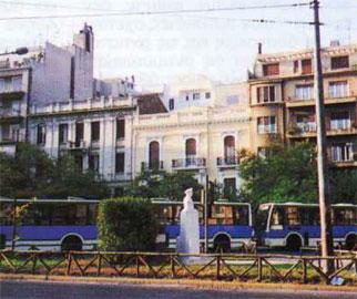 Πλατεία Αιγύπτου, εύγλωττη «είσοδος» στο Ιστορικό Κέντρο.