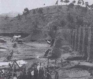 Έργα στο Αδριάνειο Υδραγωγείο Ν. Ιωνίας το 1929.