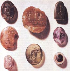 Ελληνοαιγυπτιακοί μαγικοί σφραγιδόλιθοι της Ρωμαϊκής αυτοκρατορικής περιόδου.