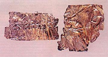 Ασημένια πλακίδια 4ου αι. π.Χ. από το ιερό της Δήμητρας στη Μεσημβρία-Ζώνη.