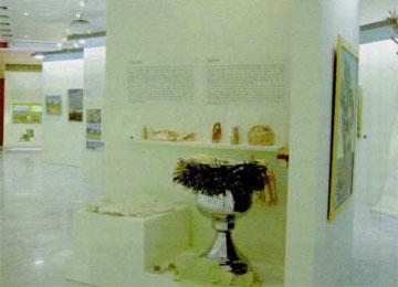 Άποψη από τον χώρο της έκθεσης.