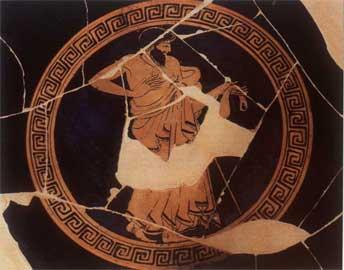 Ερυθρόμορφο αγγείο Δούριδος (500-460 π.Χ.), Φλωρεντία, Museo Archeologico Nazionale.