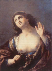Η αυτοκτονία της Λουκρητίας. Μουσείο Καλών Τεχνών, Caen.