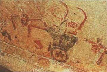 Η σαρκοφάγος που αποκαλύφθηκε σε περιοχή της Πάφου.